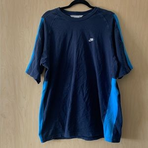 Nike | Men's Blue T-Shirt | Large